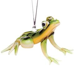 Dynasty Gallery Glassdelights Glass Spotted Tree Frog Hanging Ornament 2... - $23.71