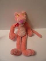 "2002 Pink Panther Poseable 16"" Plush Stuffed Animal Toy by Good Stuff UAC - $11.88"