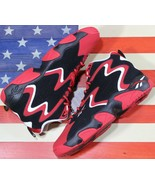 REEBOK Mobius OG Basketball Shoe Scarlet Red Black White Chicago[CN7905] Men 9.5 - $98.88