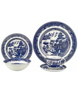 Johnson Brothers Blue Willow 5 Piece Place Set NEW IN THE BOX  - $74.24