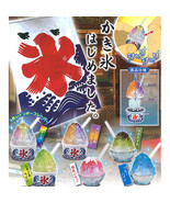 Tiny Rattling Shaved Ice Mini Food Mascot Keychain Collection - $10.99+