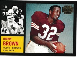 2001 Topps Archives Jimmy Brown Football Trading Card #98 Cleveland Browns - $3.95