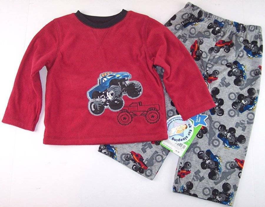 3f444ef47 NWT Carter s Boy s Monster Truck Fleece and 23 similar items