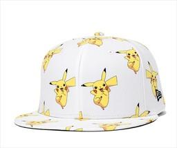 New Era Pokemon collaboration cap 59FIFTY Pikachu White - $90.99
