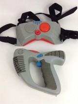 Vintage Toymax Laser Challenge Replacement Laser Gun Chest-piece with Ba... - $24.01