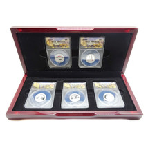 2013-S Silver Proof National Park Quarters Limited Edition, PR70DCAM, Se... - $299.25