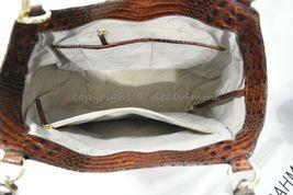 NWT Brahmin Marianna Leather Tote / Shoulder Bag in Pecan Melbourne image 8