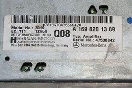 Mercedes W203 W209 Radio Amplifier Amp A1698201389 169-820-13-89 Herman Becker image 5