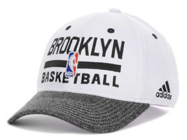 Brooklyn Nets adidas 2013 NBA Basketball Practice Stretch Fit Cap Hat - $21.95