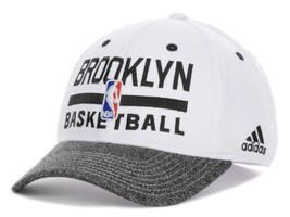 Brooklyn Nets adidas 2013 NBA Basketball Practice Stretch Fit Cap Hat - $21.95