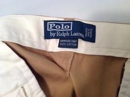 Polo by Ralph Lauren Men's Gold Cotton Dress Pants Sz 38/30 image 5