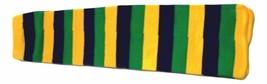 Mardi Gras Purple Green Yellow Children's Stripe Tube Socks One Size - $6.92