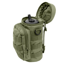 Olive Drab Green MOLLE Hip Waist Backpack Tactical Hiking Water Bottle P... - $17.81