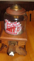 The Great American Nut Machine,vtg,wood stand,g... - $61.75