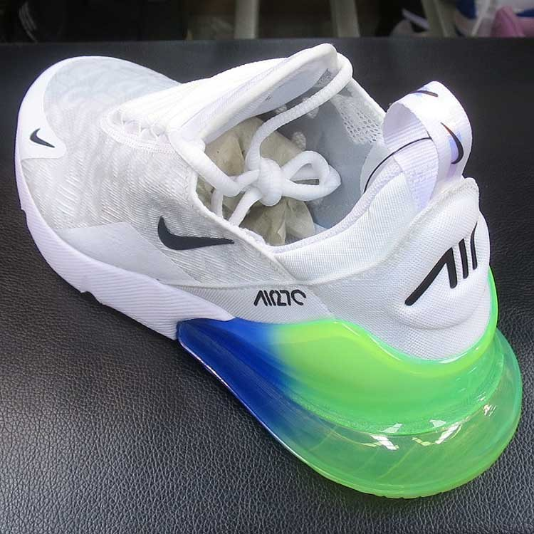 Nike Air Max 270 WhiteLime BlastPhoto Blue and 50 similar