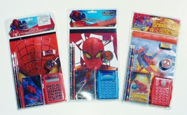 AMAZING SPIDER-MAN 7-Pc. Back-to-School Stationery & Calculator Supplies... - $7.91