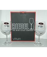 Riedel 641697 Vinum Oaked Chardonnay Glasses Set of 2 Lead Crystal Color... - $50.95