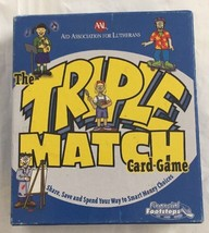 Triple Match Card Game...AAL...Financial Footsteps...Complete - $3.99