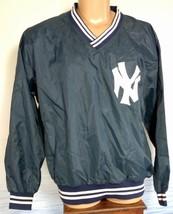 New York Yankees NY XL Merrygarden USA Pullover Jacket Nylon Baseball CHAVEZ EUC - $39.50
