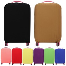 Elastic Travel Luggage Suitcase Bag Cover Protective Dust-proof Solid Ca... - $13.18+