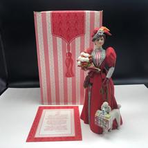 1997 AVON MRS ALBEE AWARD figurine statue nib box porcelain poodle regal... - $123.75