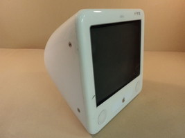 Apple eMac PowerMac 4 4 PowerPC 7445 G4 17in 80GB Hard Drive 1GHz A1002 ... - $120.39