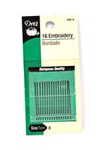 Dritz Embroidery Needles Size 8 - $7.52