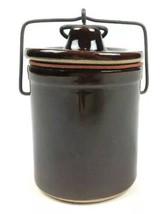 """Vintage Brown Stone Crock (5""""x3.25"""") - $18.66"""