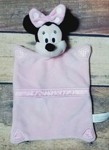 Disney Just Play Minnie Mouse Pink Baby Security Blanket Lovey Baby NWOT - $9.20