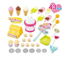 Melody Lights Popcorn Ice Cream Stall Popup Store Shop Sales Role Play Toy image 2