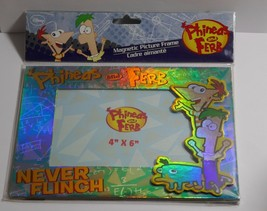 Disney Phineas and Ferb 4x6 Magnetic Picture Frame  SEALED - $6.64