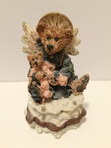 Boyds Bears and Friends Angelica #2266 The Guardian Angel Bear Trinket Box 1995 - $8.90
