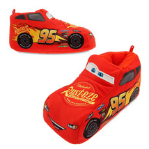 Disney Cars Lightning Mcqueen Light Up Slippers Sz 9/10  - $24.99