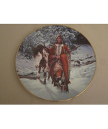 WINTER OF '41 Collector plate CHUCK REN The Last Warriors NATIVE INDIAN - $19.99