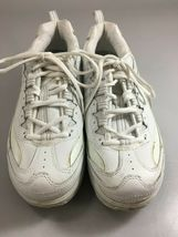 Skechers Womens 9.5 Shape-Ups White Leather Toning Gym Shoes Sneakers Kicks image 4