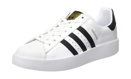 adidas Womens Superstar Bold W Low-Top Sneakers 9,5 - $144.49