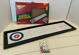 Wembley Classic Tabletop Bowling And Shuffleboard Game 2016 - $21.04