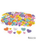 Inspirational Conversation Foam Hearts - Sunday School & Craft Supplies - $11.61