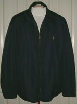 Ralph Lauren Men's Golf Jacket Lined Navy Blue Big & Tall Size 3XB - $79.99