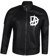 WWE Superstar Dean Ambrose D A Logo Black Leather Jacket - $93.00+