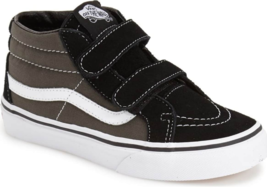 Vans SK8-Mid Reissue V Size 2.5 M (Y) EU 33 Youth Kid's Shoes Black VN00018TBA5