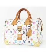 Auth LOUIS VUITTON Speedy 30 Multicolor Monogram Boston Hand Bag Purse #... - $965.00