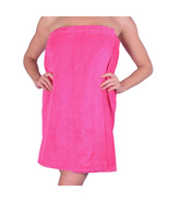 Womens Body Wrap Towel - 100% Cotton Adjustable Bath Cover Up - Made In ... - $24.00