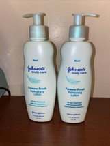 2 Johnson's Body Care Forever Fresh Refreshing Lotion 11 oz New - $23.38