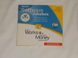 Microsoft Software Jukebox Works 8 & Money Standard 2005 - $12.00
