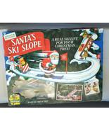 1992 Mr Christmas Santa's Ski Slope for Christmas Tree or Table Top Deco... - $147.71