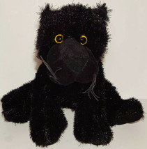 Webkinz BLACK PANTHER Retired Plush No code Ganz HM216 Adorable Stuffed Animal - $13.08