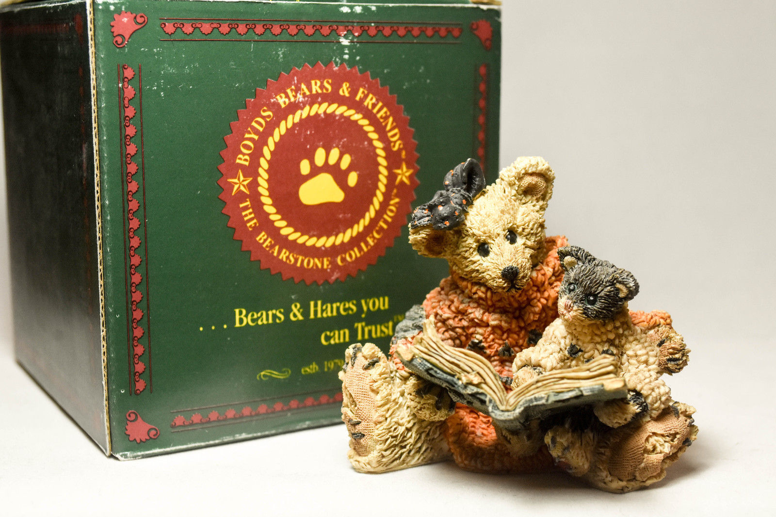 Boyds Bears: Agatha & Shelly - Scardy Cat - Style 2246 image 4