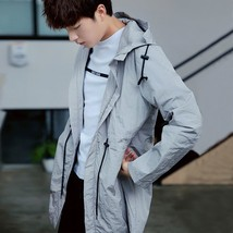 Coat Jacket Waterproof Windbreaker Raincoat Clothes Army Jacket Men Outd... - $79.36