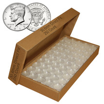 250 Direct Fit Airtight 30.6mm Coin Holders Capsules For JFK HALF DOLLARS - $59.35
